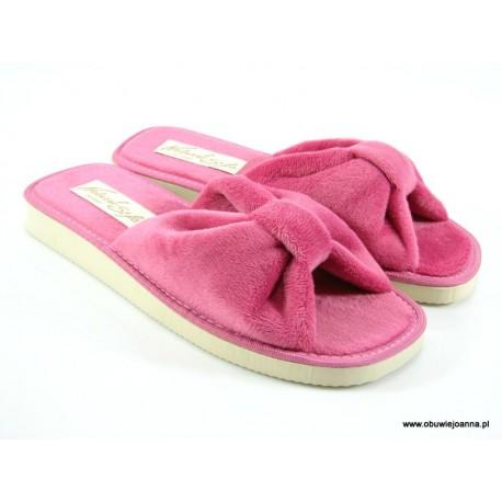 Pantofle damskie odkryte palce Edyta