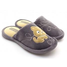 Pantofle miśki kapcie zakryte palce Kot Kłębuszek