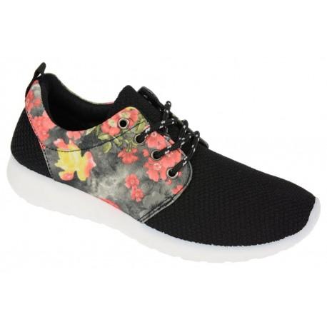 FLORAL ROSHE RUN lekkie adidasy kwiaty trampki