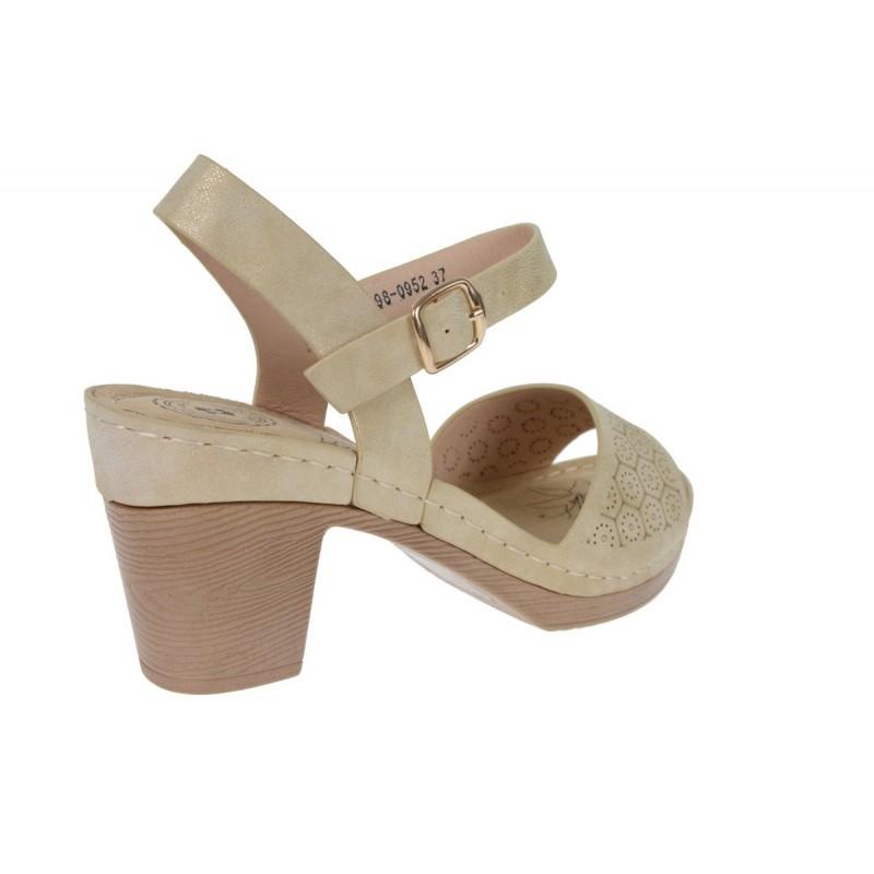 lekkie sandały damskie na obsasie